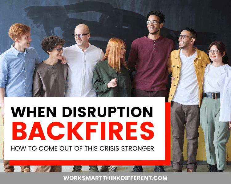 When Disruption Backfires