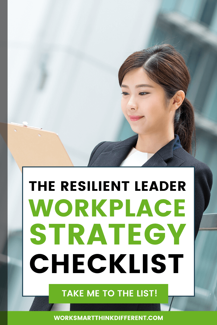 The Resilient Leader Workplace Strategy Checklist