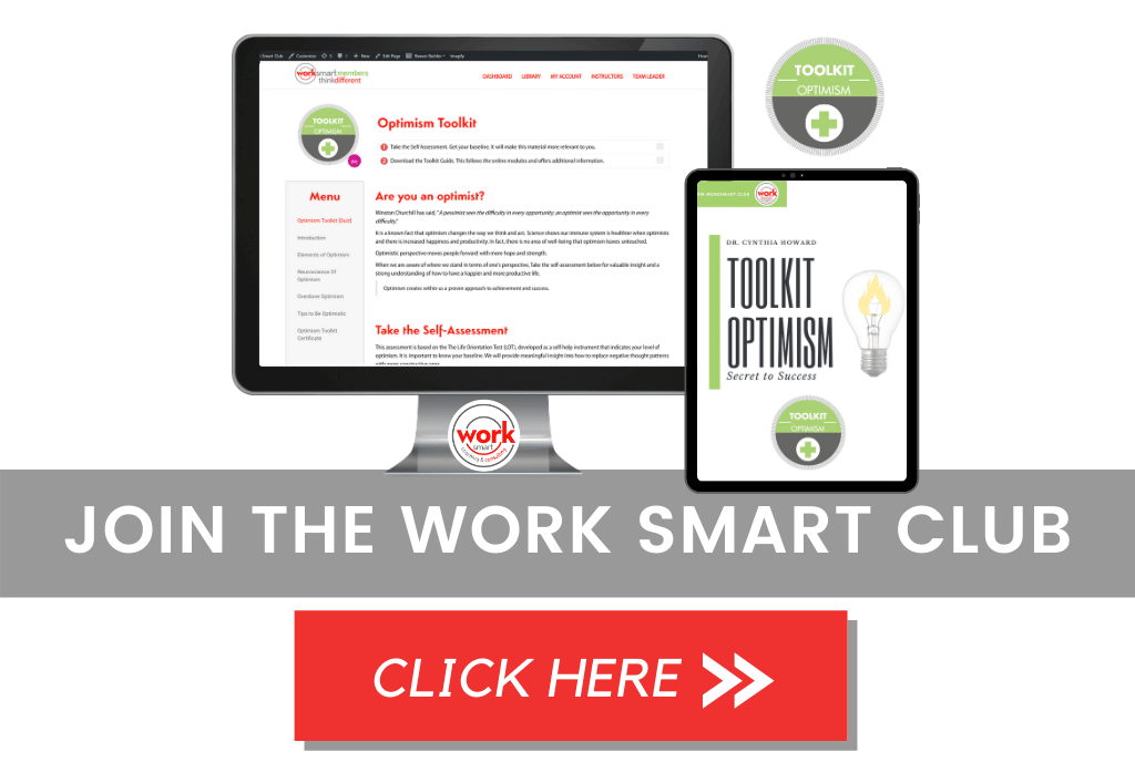 Join the Work Smart Club to gain access to the Optimism Toolkit