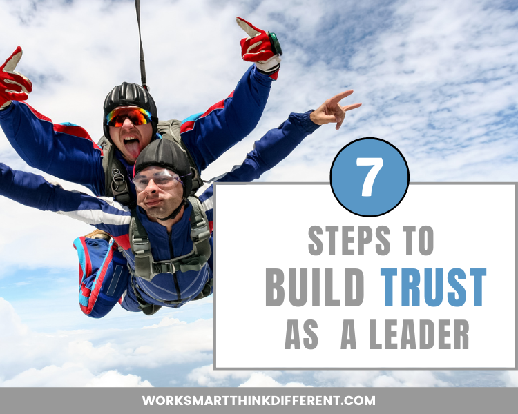 build trust as a leader